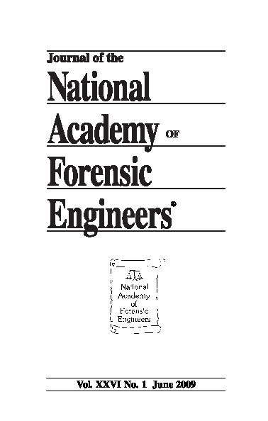 Cover of the NAFE Journal Volume 26 Number 1