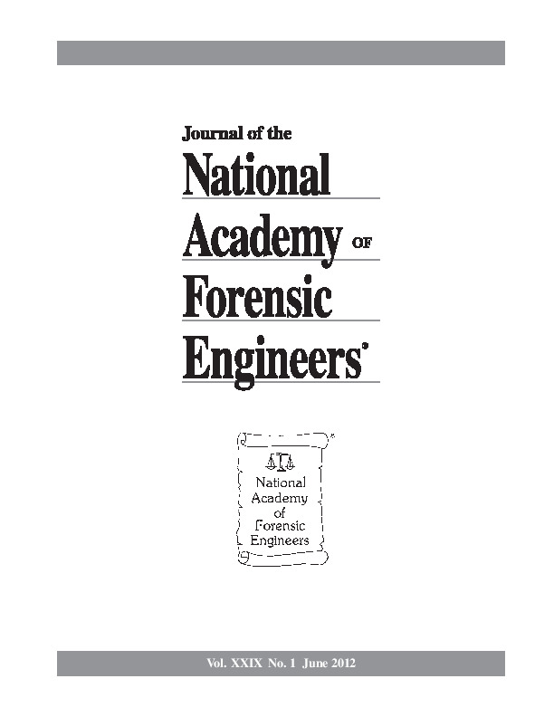 Cover of the NAFE Journal Volume 29 Number 1