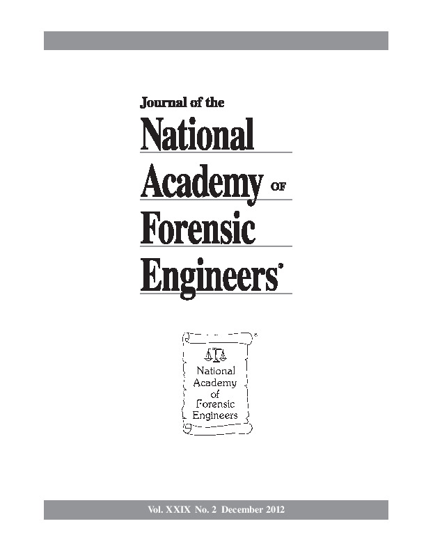 Cover of the NAFE Journal Volume 29 Number 2